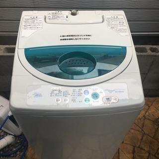5キロ洗濯機、中古、稼動品です。