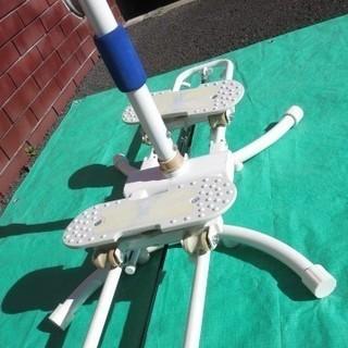 【値下げ】3674 La-VIE トレーニングマシン 腹筋ローラーセット - スポーツ