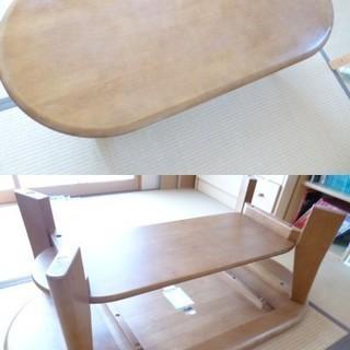 美品 maruni マルニ天然木 ラウンド オーパルセンターテーブル
