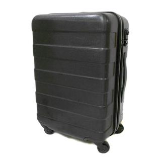 札幌 無印良品 キャリーバッグ 黒 35L ハードキャリーケース 白石区