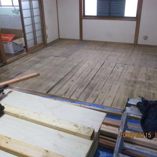 福岡,リフオーム工事、フローリング張り、便利屋