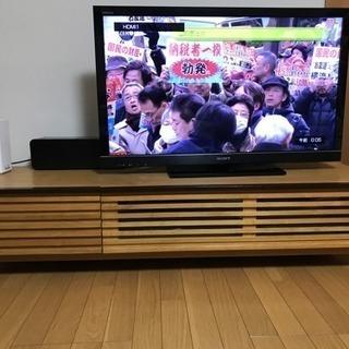 格子テレビ台2月21日まで募集