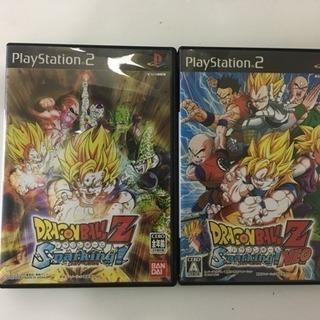 PS2 ドラゴンボール ソフト2つ 中古
