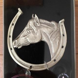 馬と蹄鉄の飾り