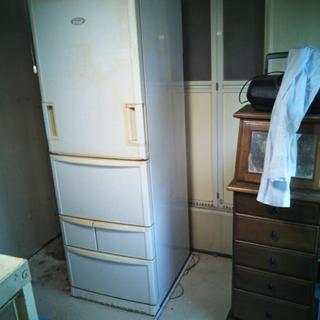ジャンク、シャープ冷蔵庫