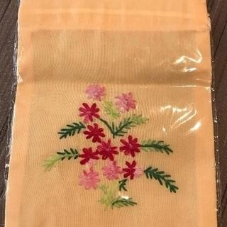 【未開封】刺繍巾着  (確か…ベトナム製)