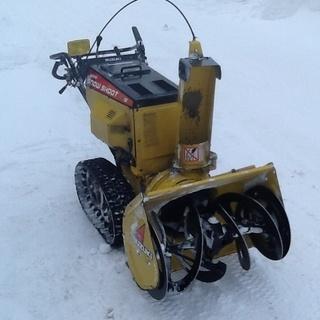除雪機 SS865ES 実働品