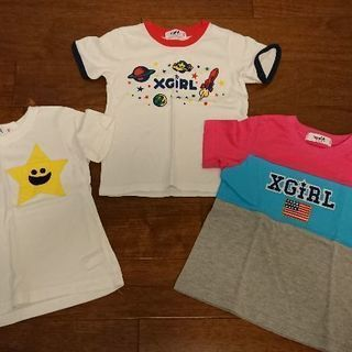 X-girl  Tシャツ(キッズ) 3枚組