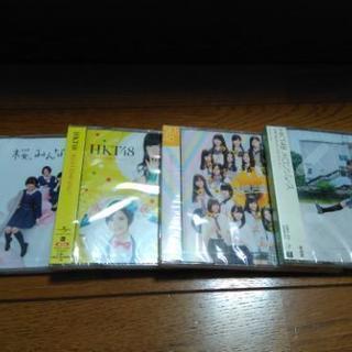 未開封 HKT48  CD4枚セット