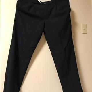 [新洋服の青山で購入!紺 洗える ズボン スラックス メンズスーツ