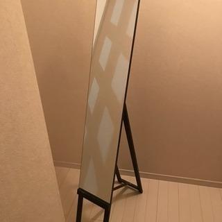 姿見・鏡・ミラー ニトリの折りたたみ式 150センチ