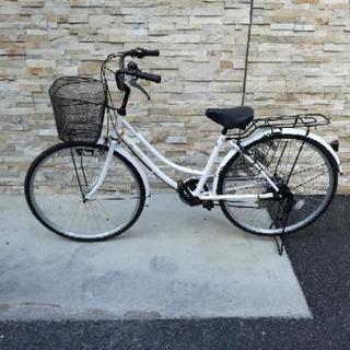 シマノ26インチ自転車6段変速