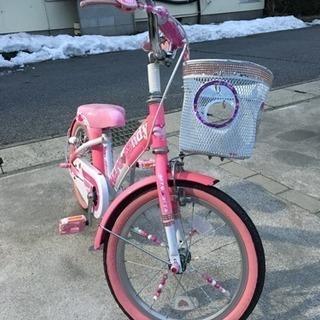 子供用 自転車 ピンク
