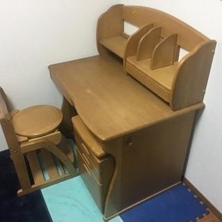 ★学習机★ セット 木製 デスク