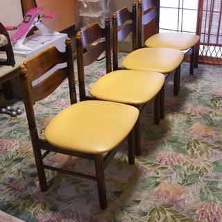 カリモク椅子 4脚