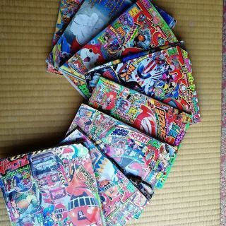 【児童誌・中古】てれびくん等 8冊
