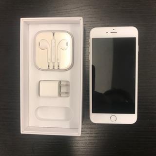 美品 iphone6plus シルバー 64gb 電池交換済み 白...