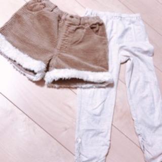 子供服 女の子[サイズ130センチ]ショートパンツ