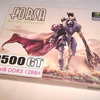 【お値引き相談】グラフィックボード FORSA 9500GT 51...