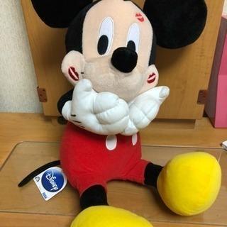 ミッキーマウスぬいぐるみ