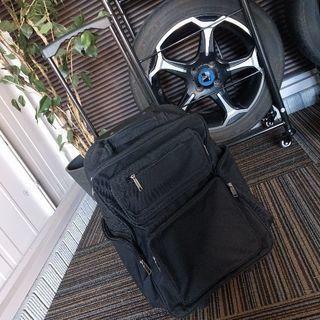 【中古】キャンバス地 スーツケース キャリーケース 旅行鞄