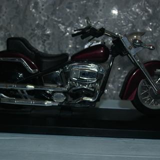 お取り引き中 値下げ品 大型オートバイの置物(時計付き)