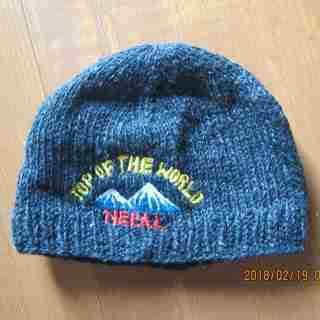 毛糸の帽子(ネパール製)