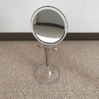 アムウェイアーティストリー非売品鏡手鏡にもなる 拡大鏡付き ミラー鏡台