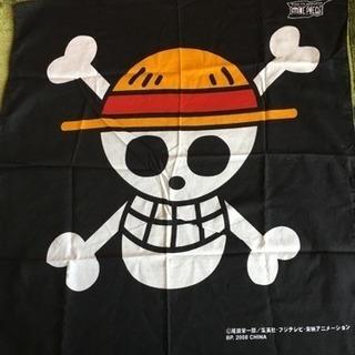 ワンピース 海賊旗柄のバンダナ