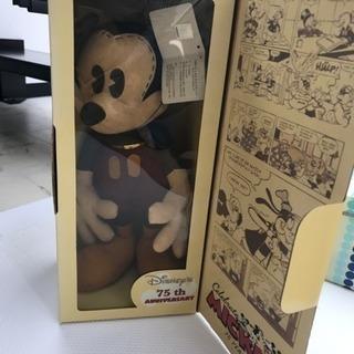 オールドミッキーマウス 75周年レア