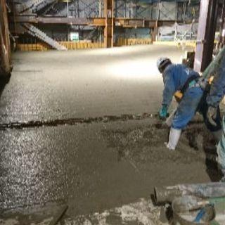 左官業です!コンクリート打ち仕上げ工事等を行います!