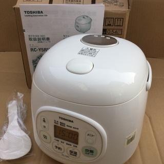<新品>東芝・マイコンジャー炊飯器・RC–Y5RV