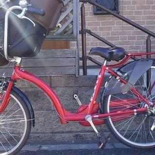 子供乗せ自転車 プチママンDX 三人乗り自転車