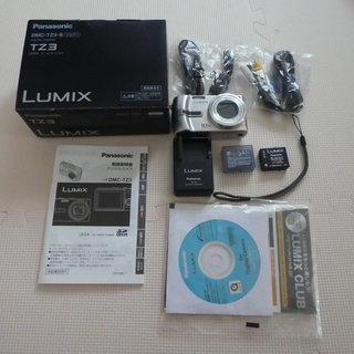 Panasonic LUMIX TZ3 DMC-TZ3-S ジャンク