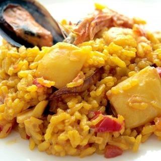 マリオのスペインづくしのスペイン料理教室のパエリヤおすそ分け