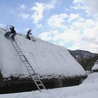 🌟屋根の雪下ろし・排雪・雪片づけ格安にて承ります