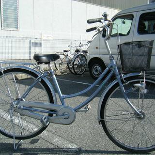 中古自転車96(防犯登録無料) 前後タイヤ新品交換!ホームサイクル...