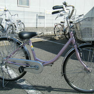中古自転車98(防犯登録無料)ブリヂストン N40UT4 24イン...