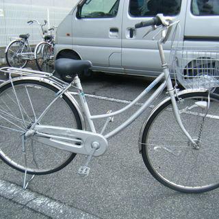 中古自転車93A(防犯登録無料)日本製 ホームサイクル 27インチ...