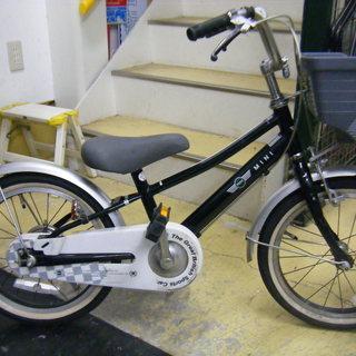 中古自転車87B(防犯登録無料) 子供自転車 MINI 16インチ...