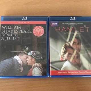 Blu-ray Romeo & Juliet/ Hamlet 海外版