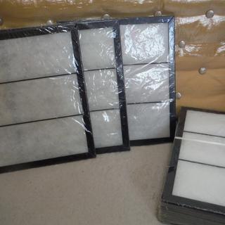 レンジフードフィルター 換気扇(専用取付枠付き)