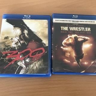 Blu-ray 海外版 The Wrestler/ 300