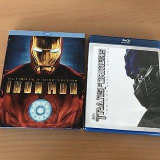 Blu-ray 海外版 アイアンマン・トランスフォーマー