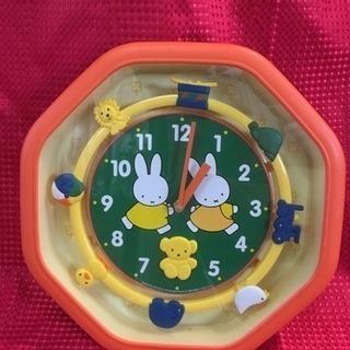 ミッフィ♪壁掛け時計