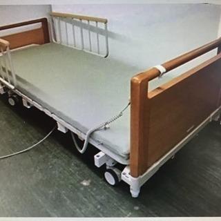 介護 電動ベッド キャスター マット付