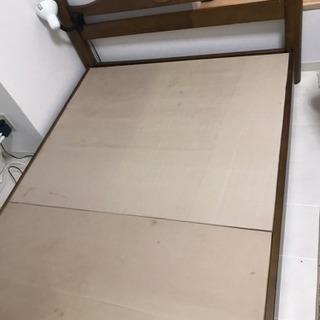 木製ローベッド セミダブル