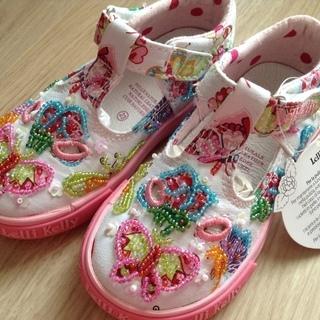 新品イタリア靴 15cm