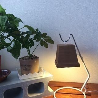 LEDスタンドライトUSB電源