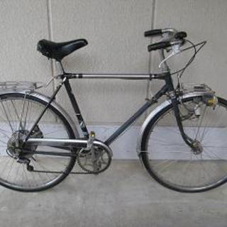 昭和のレトロ自転車(26インチ・外装6段変速)